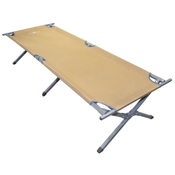 Black Sierra Traditions Folding Camp Cot