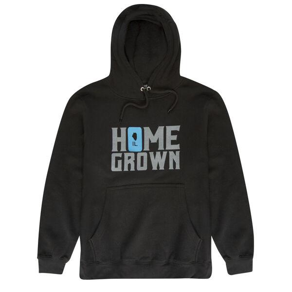 Local Yokel Men's Illinois Home Grown Pullover Hoodie