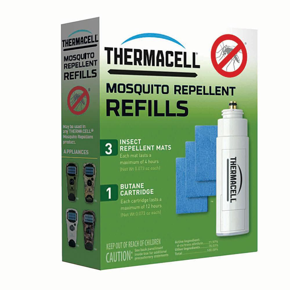 12 Hour Pack 3 Repellent Mats and... Thermacell R-1 Mosquito Repeller Refill
