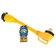 Camco PowerGrip Marine Dogbone Electrical Adapter