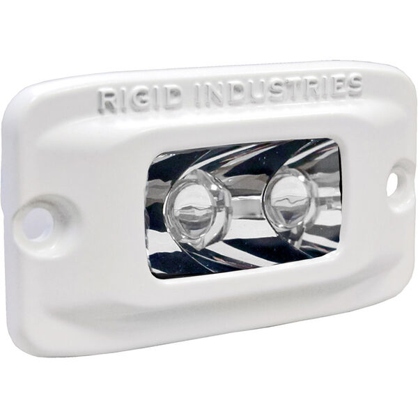 Rigid Industries Marine SR-M Amber LED Spot Light, Flush-Mount