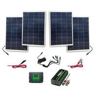 Nature Power 440-Watt Complete Solar Kit