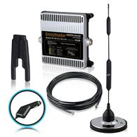 Smoothtalker RV X6 Pro 50dB 4G LTE Extreme Power Cellular Booster Kit, 12 Volt Plug-in Power