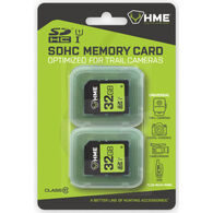 HME Products 32GB SDHC Memory Cards, 2-Pack