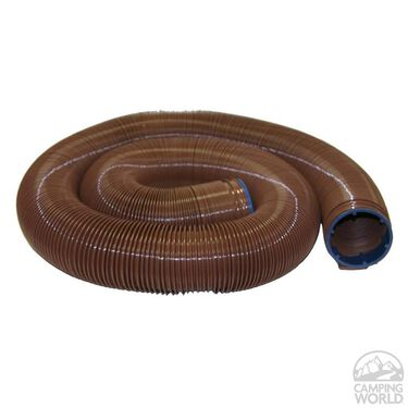 Valterra EZ Flush Heavy-duty Sewer Hose, 10'L