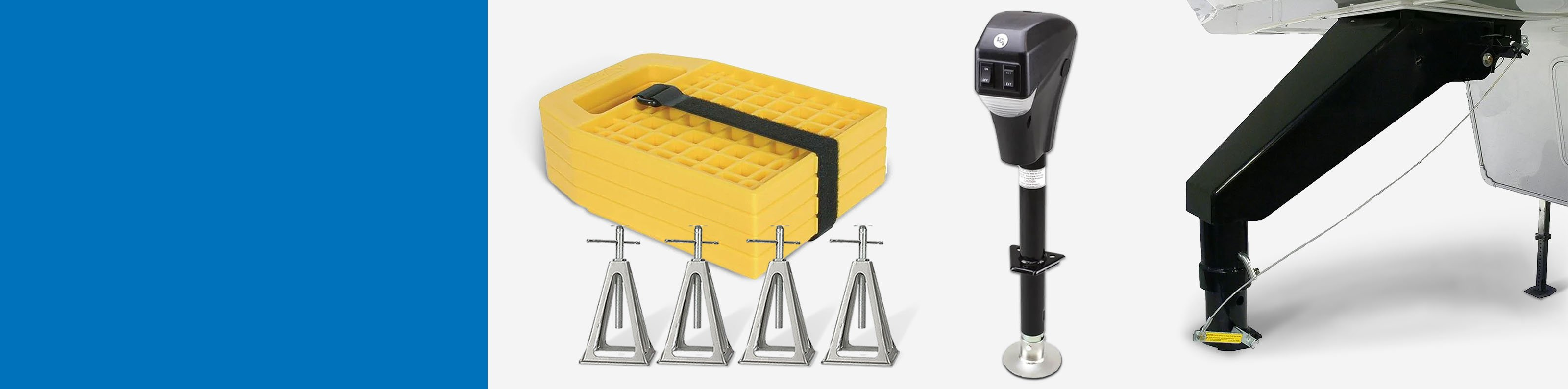 Up to 40% off Chocks & Leveling Systems