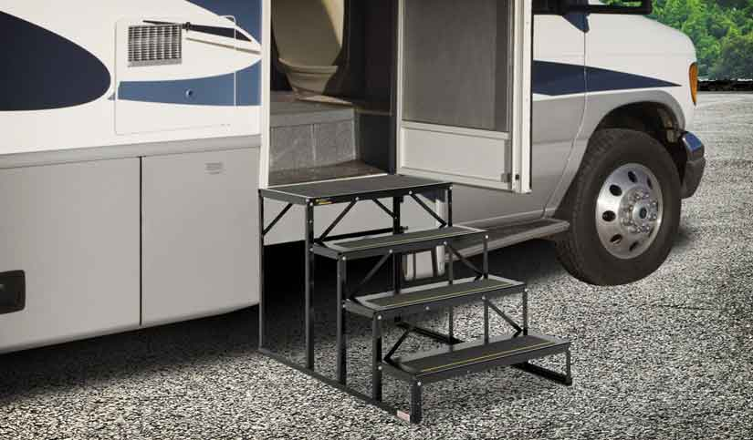 Up to $100 off RV Steps, Stools and Step Rugs