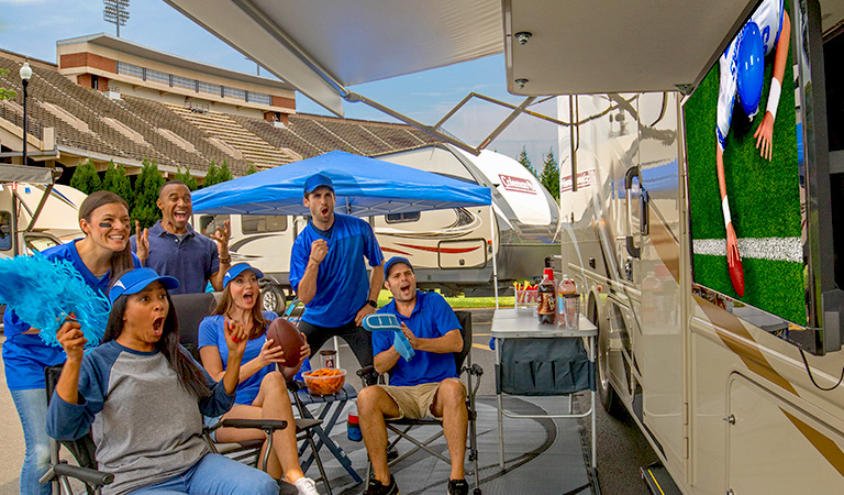 GET READY FOR GAME DAY with Savings on RV TV's