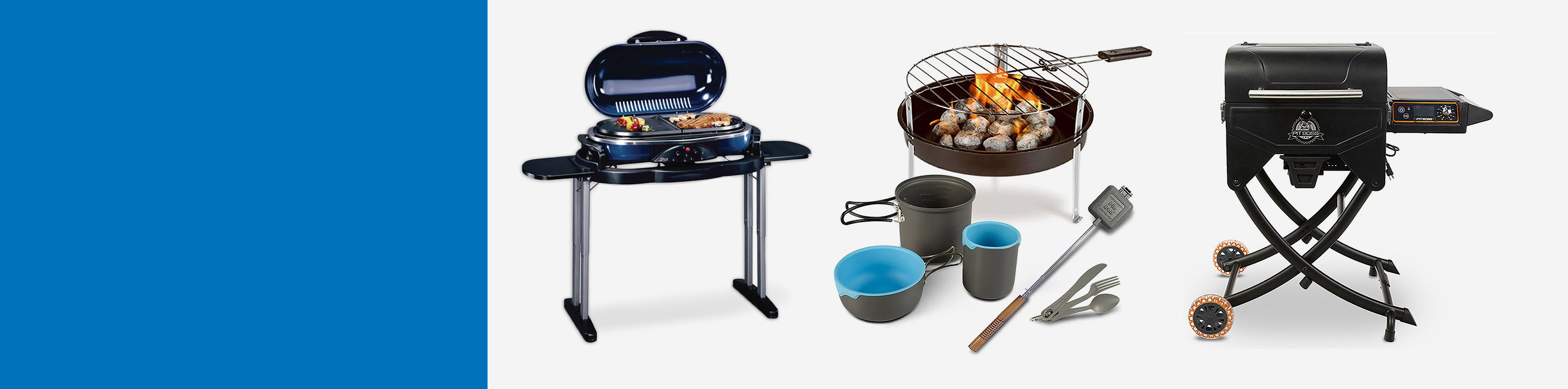 Excellent Cooking Gear! Save up to 40% on Grills & Camp Kitchen