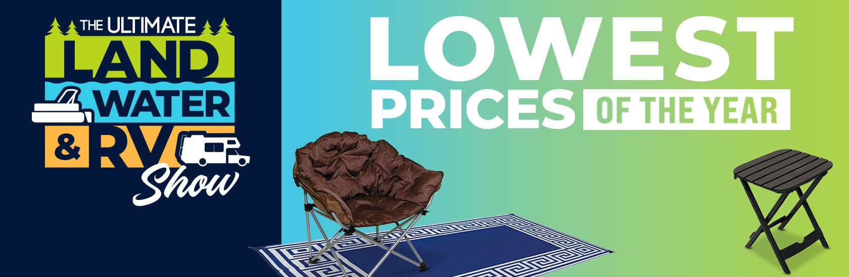 Lowest prices of the year on chairs, tables, patio mats & more