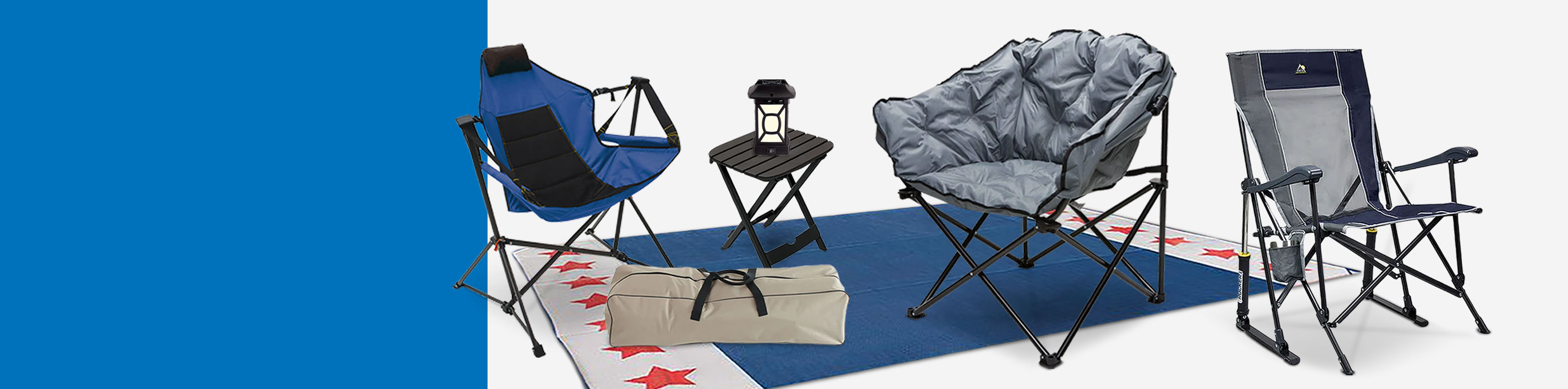 Sit Back & Relax! Up to 30% off Camp Furniture