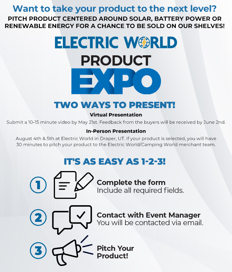 Electric World Product Expo