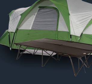 Up to 25% off Tents, Sleeping Bags & Cots