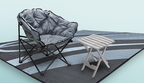 Save on New & Exclusive Chairs, Tables, Steps & Patio Mats