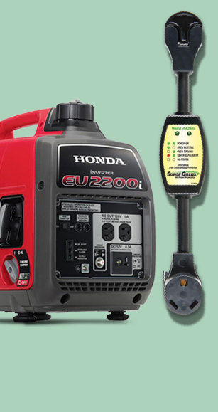 Save Big on Generators, Surge Protection & Electrical Cords