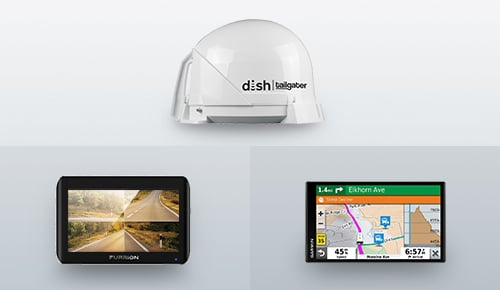 Upgrade Your Tech! Shop Satellite Antennas, GPS & Rear Vision Systems!