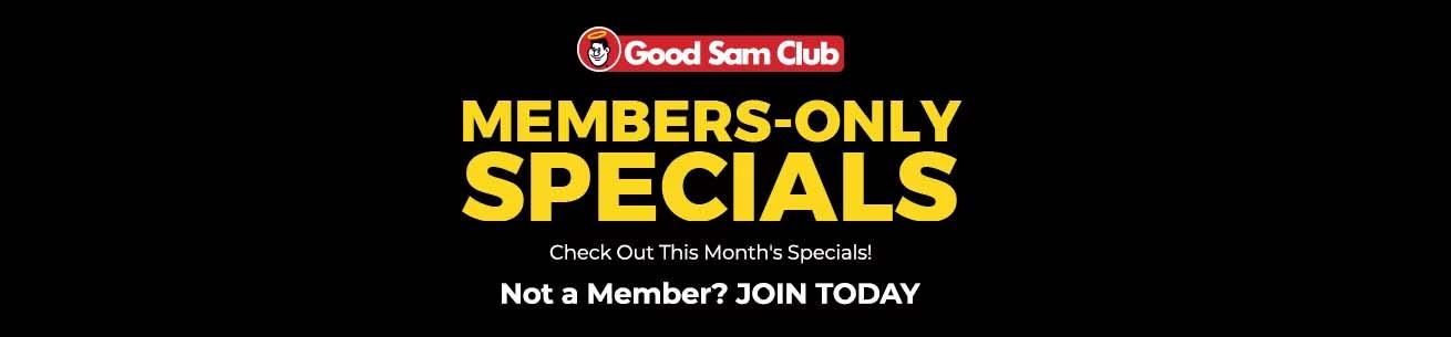 Good Sam Club Membership Specials - Camping World | Camping World Disd Camping Map on