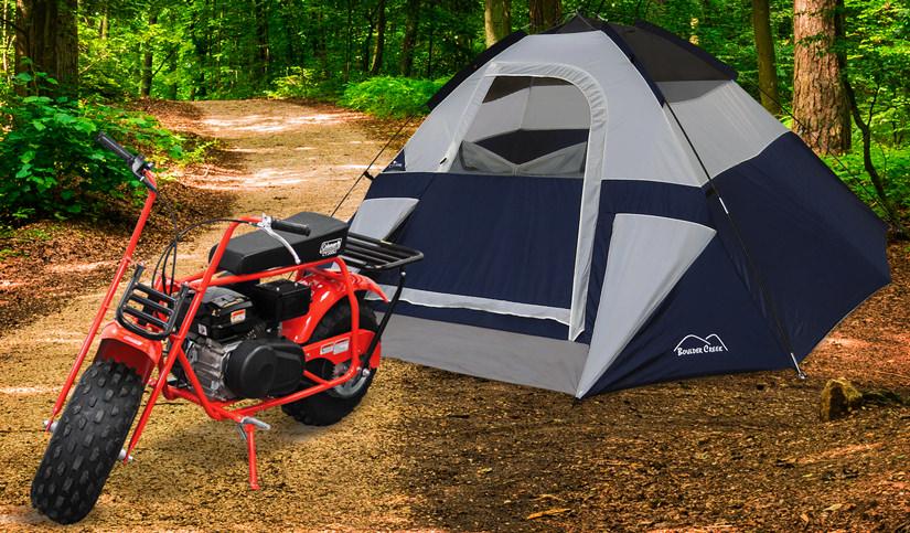 Huge Savings on Bikes, Camping & Watersports