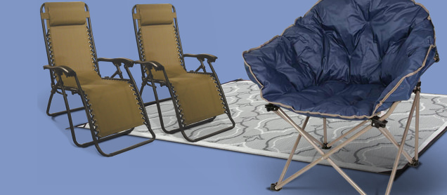 Shop the Largest Selection of Outdoor Chairs, Recliners, Patio Mats & Step Rugs