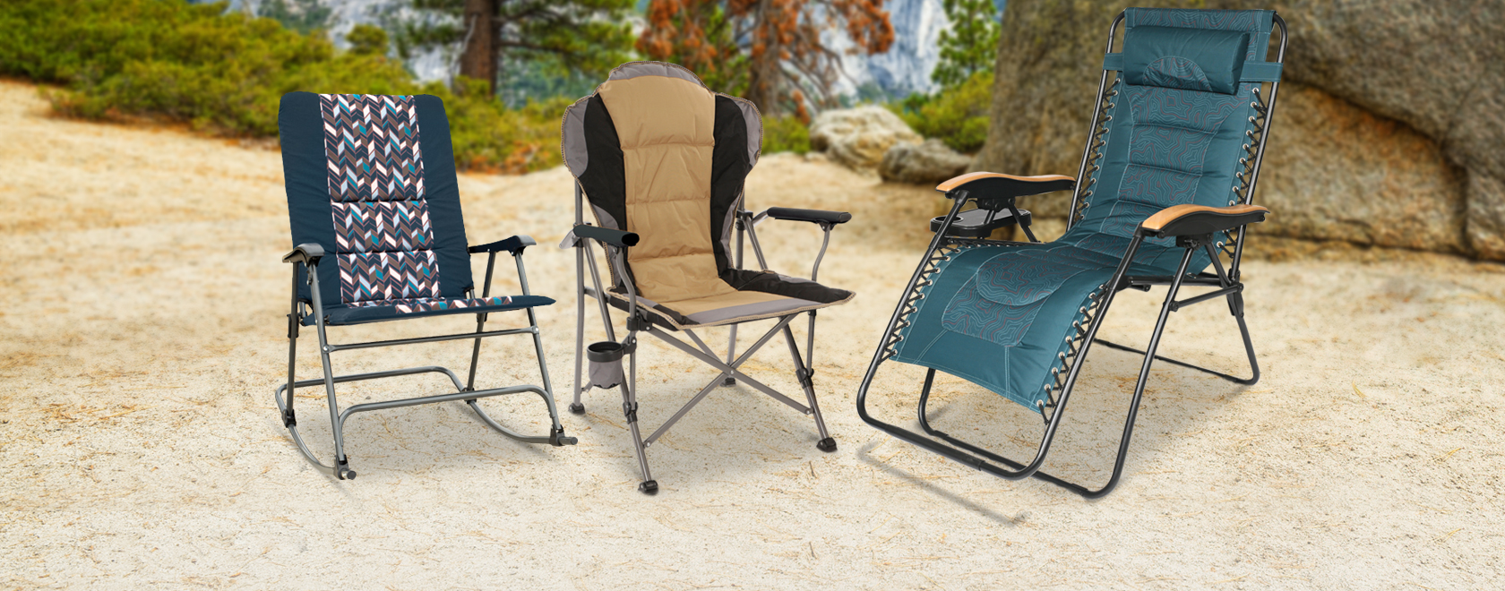 Save up to 50% on Rockers, Recliners, and more Outdoor Chairs
