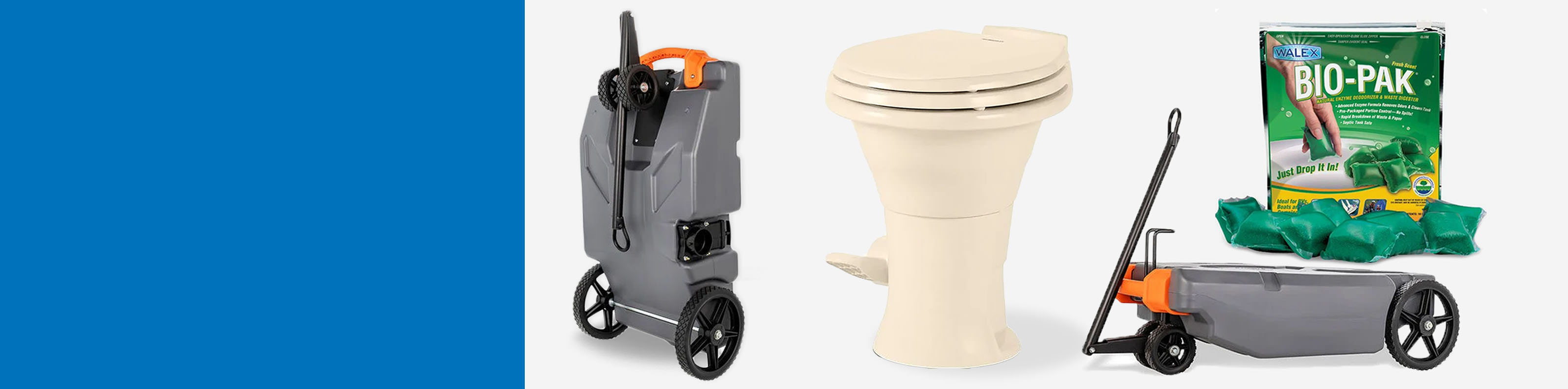 The Most Reliable RV Sewer Products - Up to 35% off RV Toilets, Tote Tanks & Chemicals