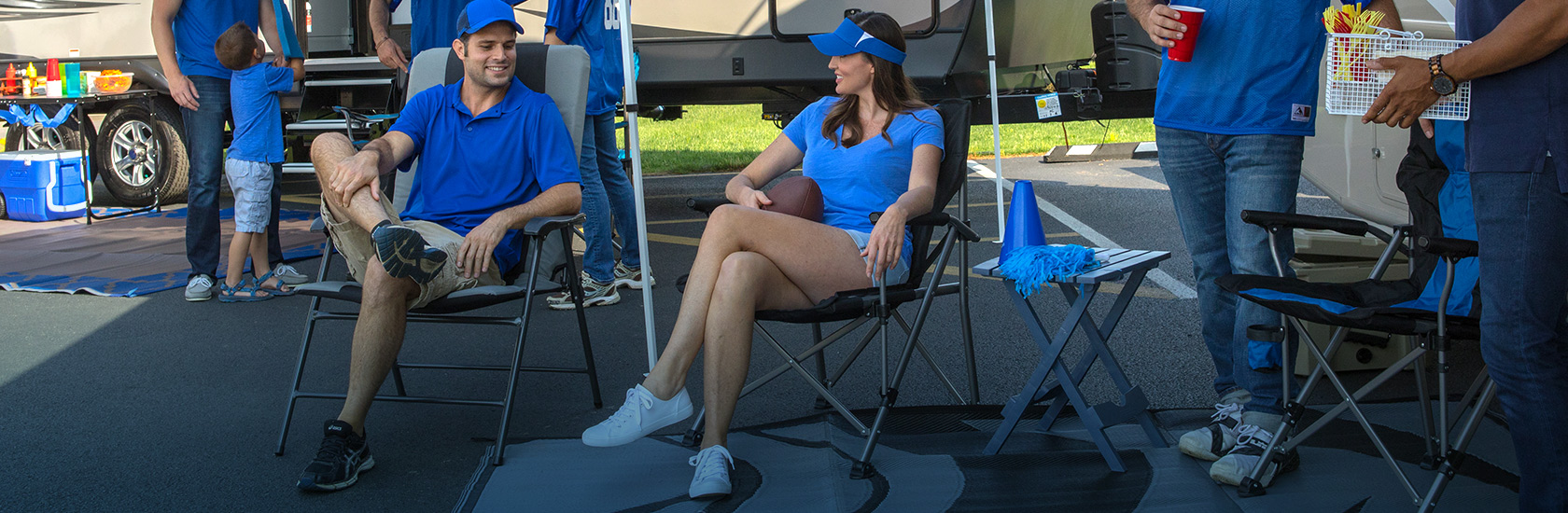 Your Tailgate NEEDS SOME COMFY CHAIRS! Shop Chairs, Rockers, & Recliners