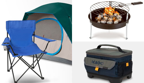 Starting from $9.99! Grill, Tent, Chair & Cooler World