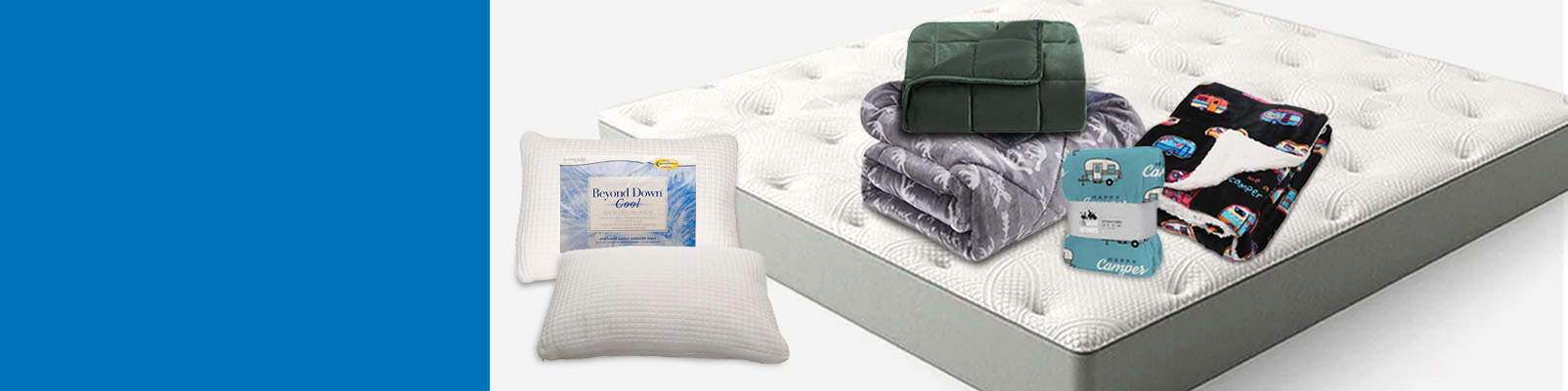 Save up to $250 on Mattresses, Toppers & Bedding