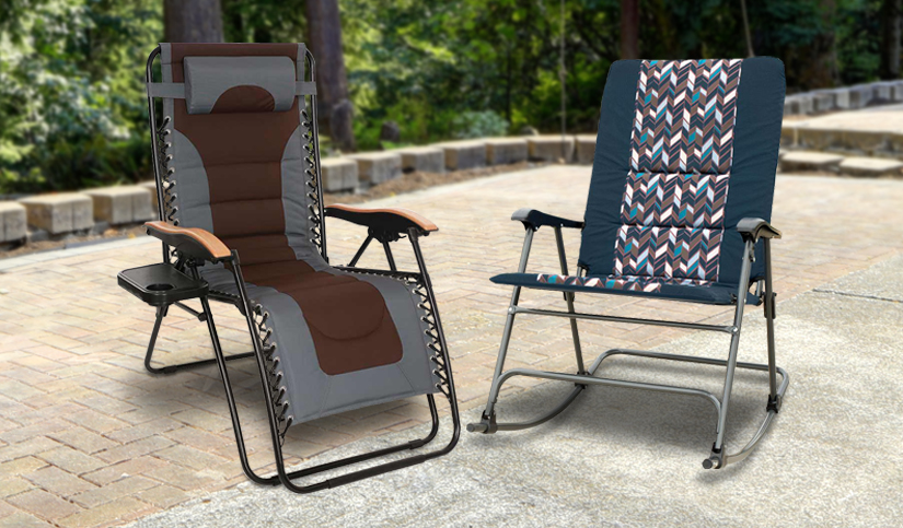 Save BIG on Outdoor Chairs, Rockers & Recliners