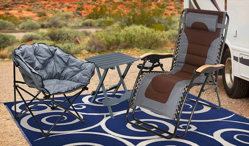 Save Up to 55% on Outdoor Mats, Chairs & Tables!