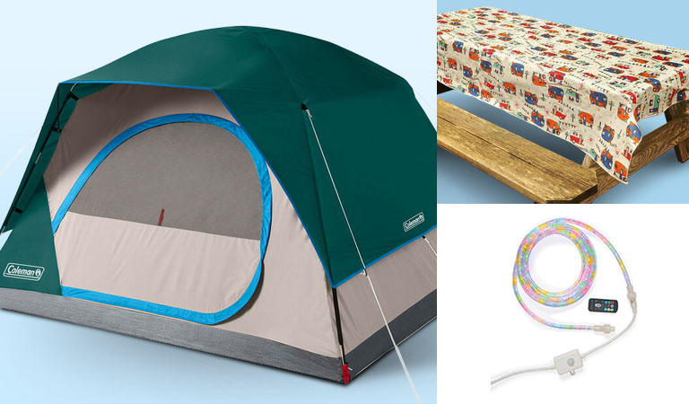 Save up to 20% on Outdoor Lighting, Tents & Picnic Supplies