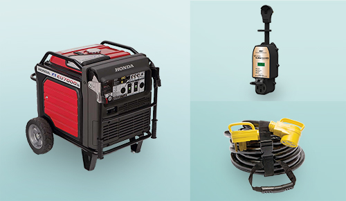 Save up to $300 on Generators, Electrical Cords & Surge Protection