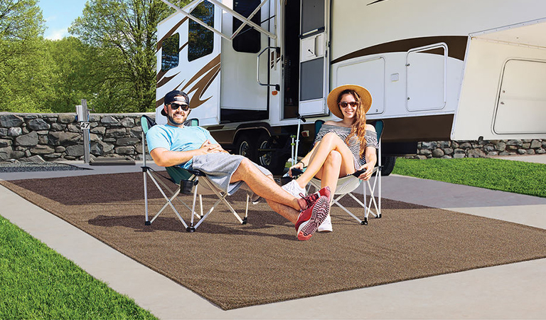 Save up to 45% on Outdoor Rugs & Patio Mats