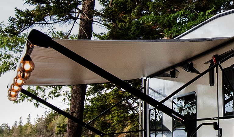 Save Big on Awning Replacement Fabric & Accessories