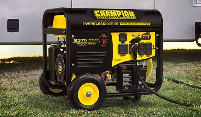 Save over $300 on Portable Generators