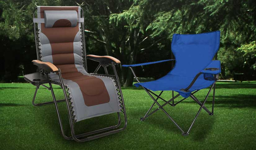 HUGE savings on Folding Chairs and Recliners
