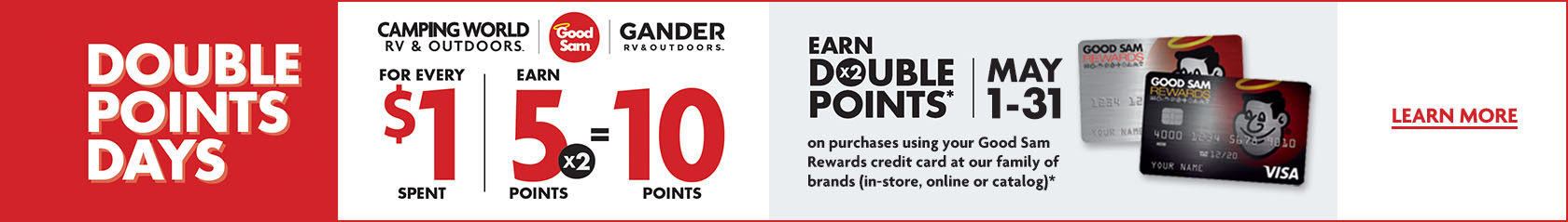 Double Points Days