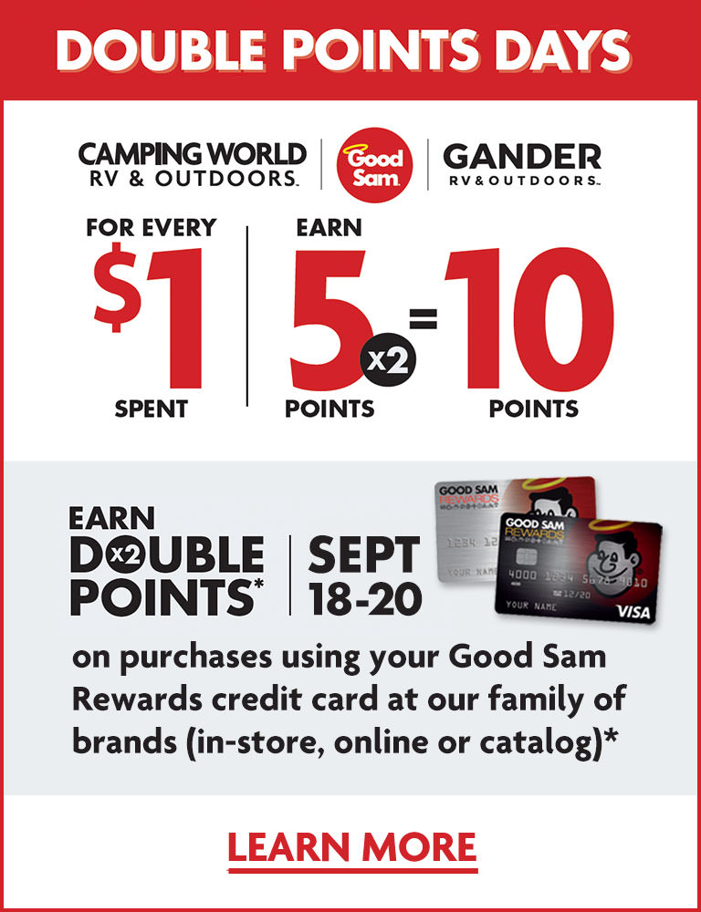 Good Sam Rewards Credit Card Double Points Days