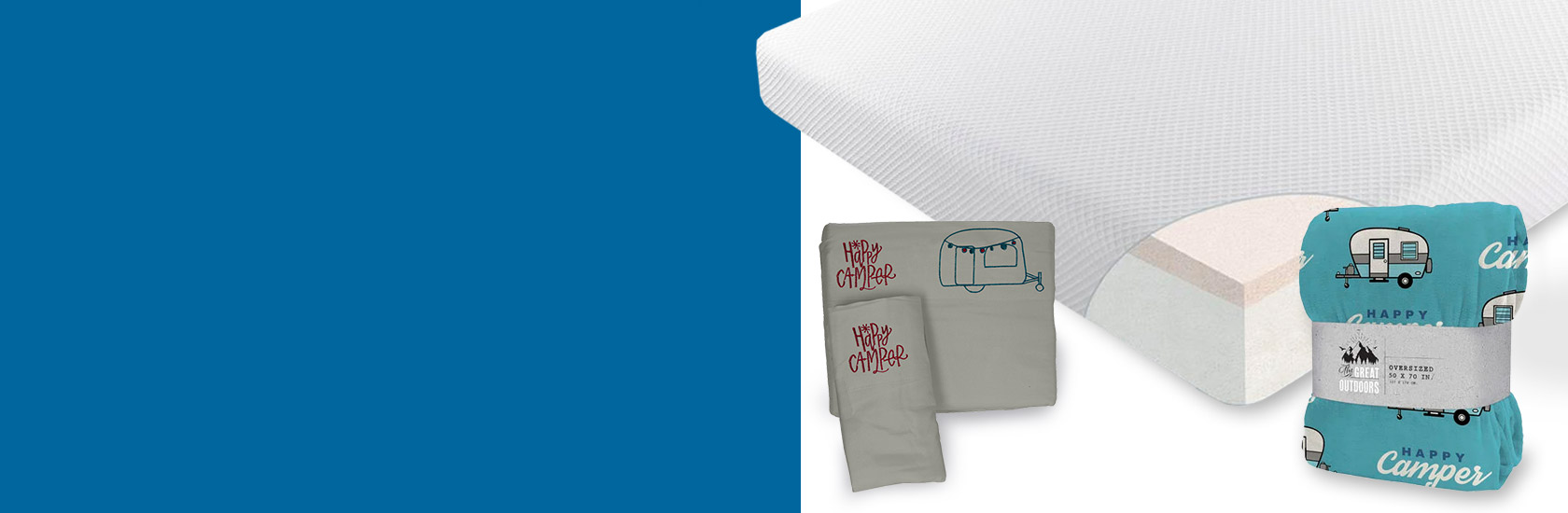 Shop the Best in Comfort Wherever You Go! Up to $250 off Mattresses, Toppers & Bedding
