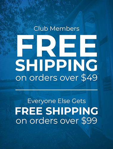 Free Shipping on Orders Over $49 for Club Members and Over $99 for Everyone Else