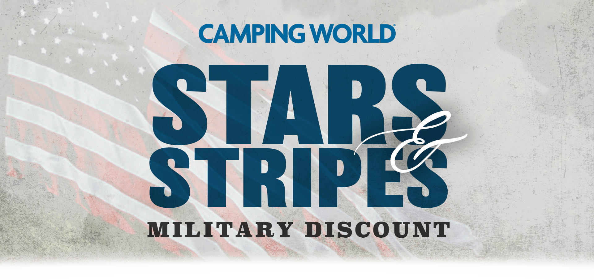 Camping World Star Stripes Military Discount
