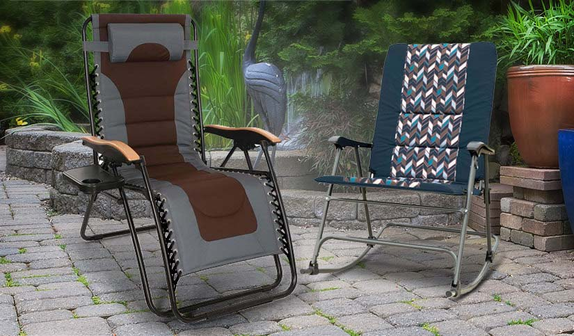 Over 40% savings on Outdoor Chairs, Rockers and Recliners