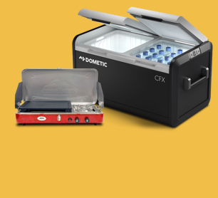 Up to $150 off Camp Kitchen, Coolers & Camping Supplies