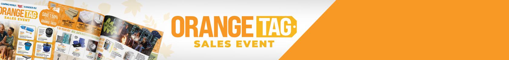 Orange Tag Sales Event