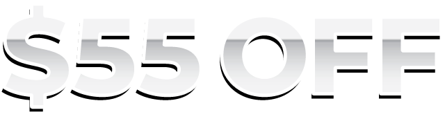 55th Birthday Celebration - $55 off your order over $250