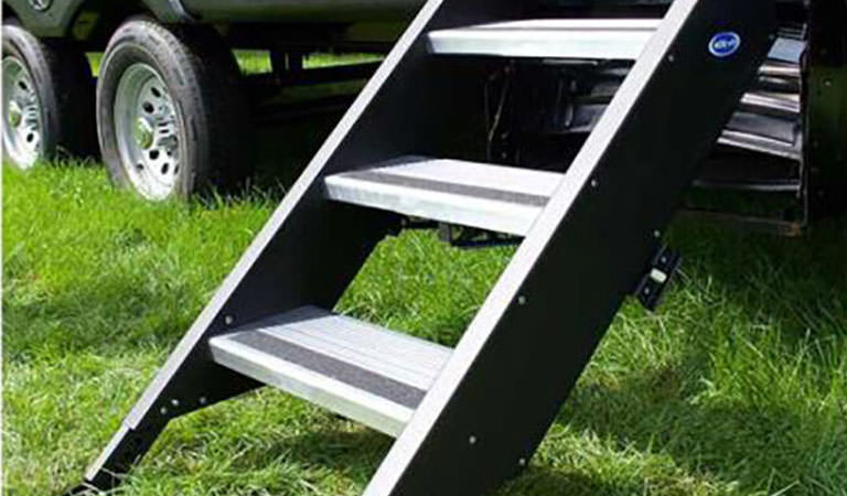 Special Savings on Steps & Ladders for Your RV