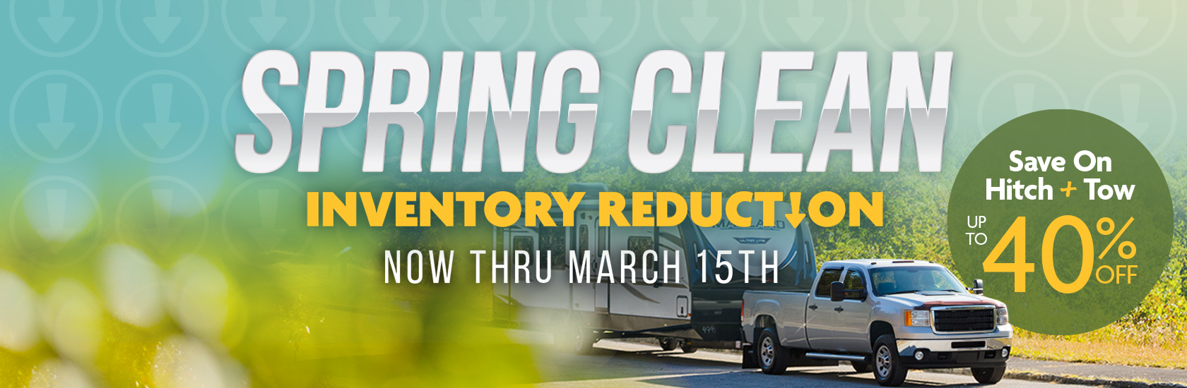 Spring Clean Inventory Reduction
