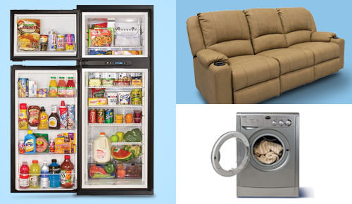 Shop the Latest Deals on RV Appliances, Furniture & Bedroom Necessities