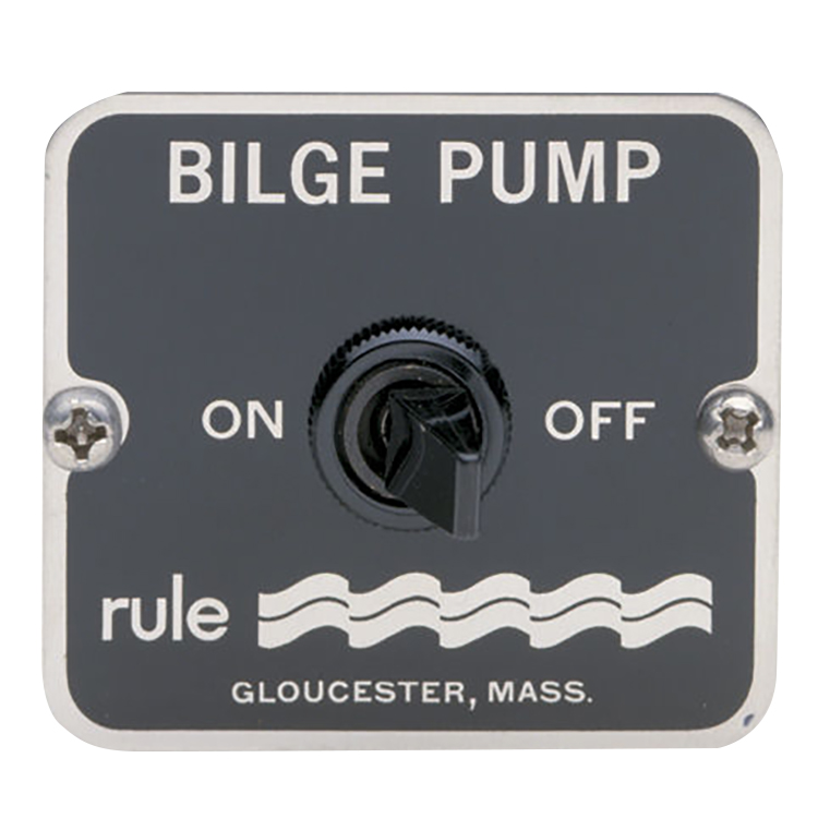 Rule 49 Two-Way Panel Switch For Manual Bilge Pumps photo