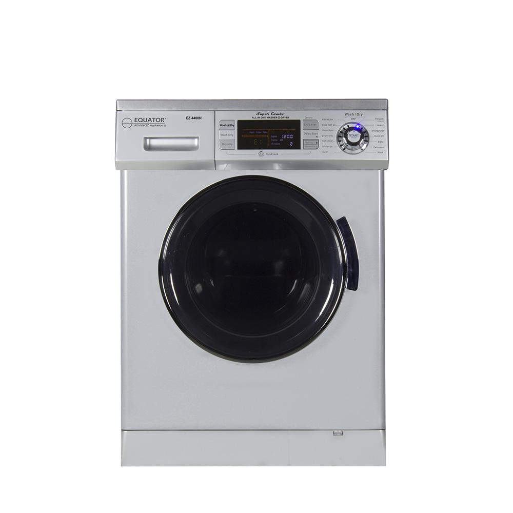 Equator Super Combo Washer/Dryer, Silver, 2019 Model photo